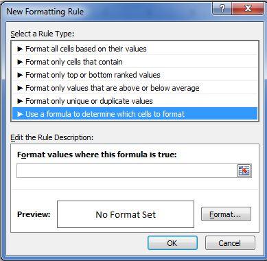 aplicar formato condicional personalizado