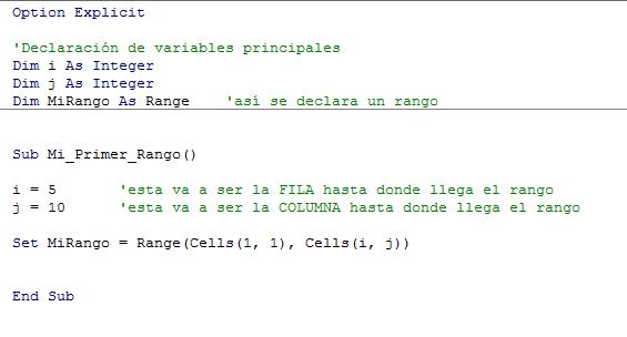 Image crear un rango en vba