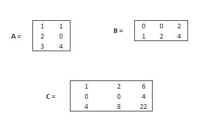 Matrices multiplicar matrices
