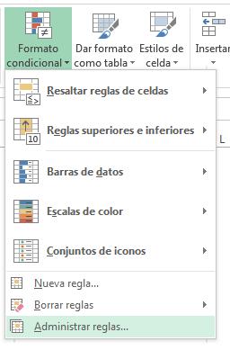 3 modificar formato condicional