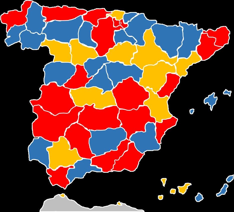 mapa mudo espana comunidades autonomas pdf