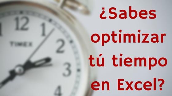 operaciones rápidas en Excel