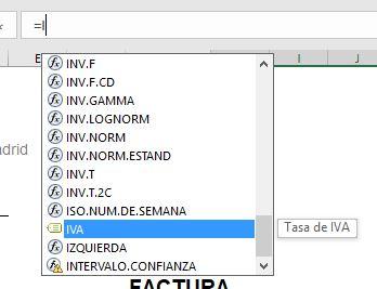 Excel reconoce nuestro nombre